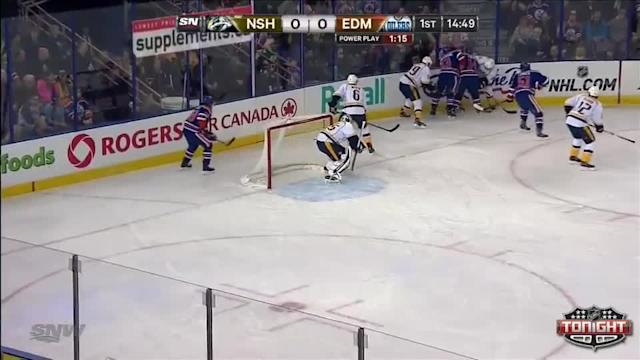 Nashville Predators at Edmonton Oilers - 03/18/2014