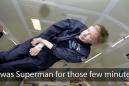 NASA's tribute to Stephen Hawking will make you smile like he did in microgravity