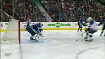 Eddie Lack denies Vladimir Tarasenko in tight