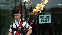 Scots vote on Independence, U.K.'s fate on knife's edge