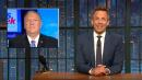 Seth Meyers Blasts Mulvaney and Pompeo's Disastrous Sunday Show Spin