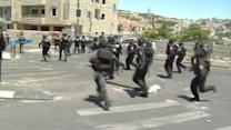 Palestinians, Israeli forces clash in East Jerusalem