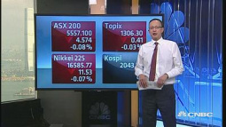 Asia markets mixed; Chinese shares slip on liquidity concerns