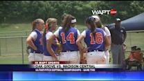 Oak Grove defeats Madison Central in 6A fast pitch softball championship series