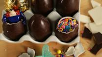 You'll Love What's Hidden Inside These Chocolate Eggs