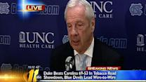 Roy Williams post-game press conference
