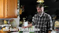 How to make non-dairy tzatziki sauce