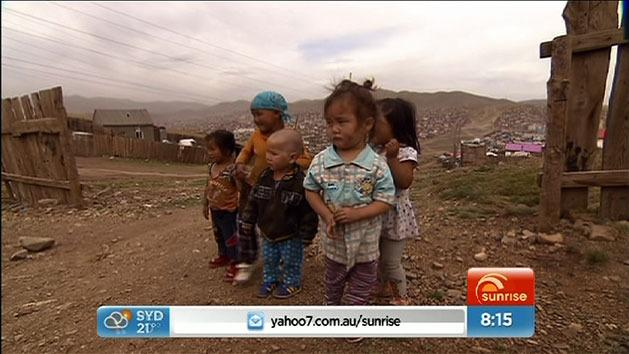 Mel returns to Mongolia with her son