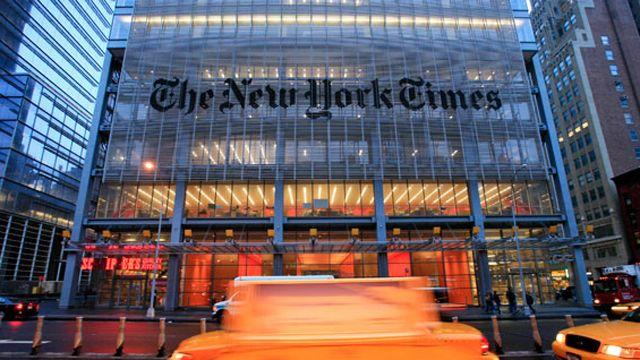 Editor calls out NY Times for liberal bias