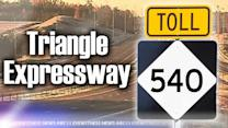 Triangle Expressway closes for maintenance