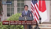 Japan's Abe: TPP significant to regional stability