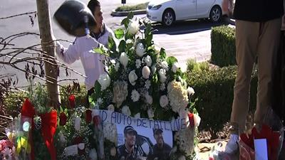 Memorial to Actor Paul Walker