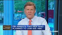 FBI arrests 2 men suspected of plotting to join ISIS