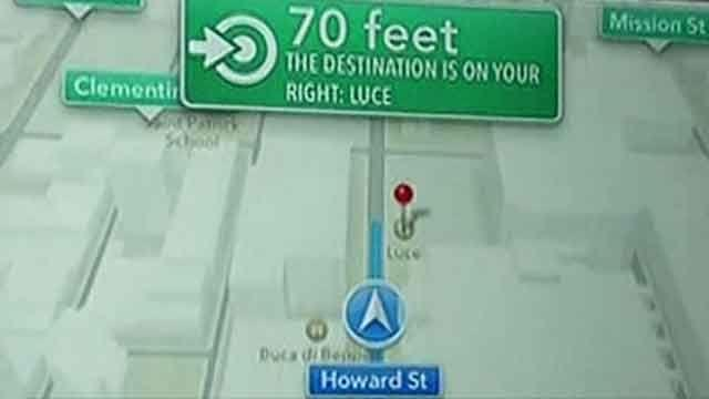 Apple Maps luring motorists into danger?