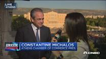 Optimistic for strong yes vote: Constantine Michalos