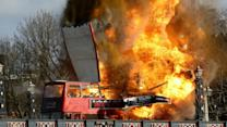 Double Decker Bus Explosion in London Part of Film Shoot, Scares Locals