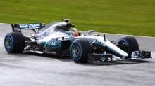 2017 Mercedes AMG F1 car revealed, introduces new naming strategy