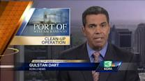 Port of West Sacramento clean-up begins