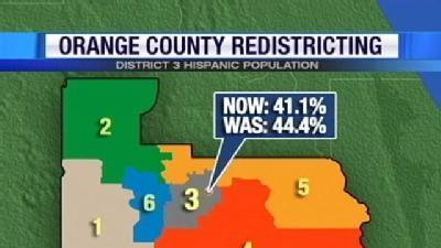 Orange Co. Redistricting Plan Approved