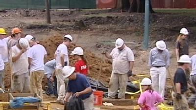 Remains Unearthed In Washington Park Dig