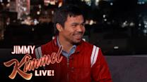 Manny Pacquiao Talks About Meeting Floyd Mayweather