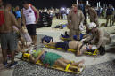 Baby dies, 17 injured after car hits crowd on Rio boardwalk