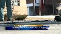 Number of potholes on the rise, along with complaints