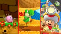HANDS-ON: Yoshi's Wooly World, Kirby's Rainbow Curse, Captain Toad and More - Rev3Games