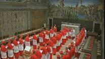 Noon: Papal conclave begins