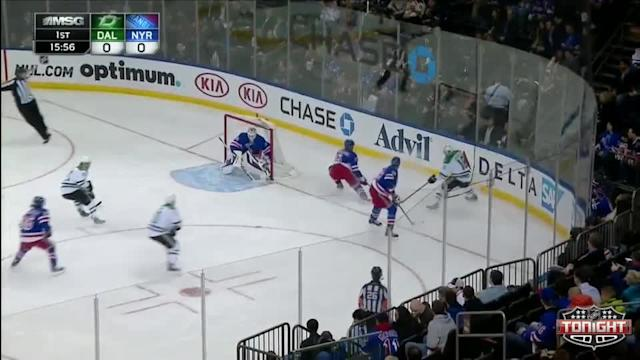 Dallas Stars at NY Rangers Rangers - 01/10/2014