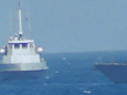 US Navy releases video showing close call and machine-gun firing near an Iranian patrol boat