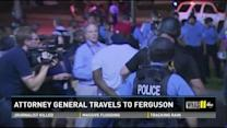 Holder calls for end to violence in Ferguson
