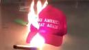 Angry Right-Wingers Turn On Trump, Burn Their 'Make America Great Again' Hats