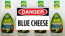 Ranch Recalled Because It's Blue Cheese