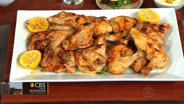 Jimmy Bannos Jr.'s roasted lemon chicken on THE Dish