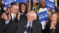 Bernie Sanders wins the New Hampshire Democratic primary