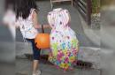'Headless' 2-year-old girl goes viral for her creepy Halloween costume