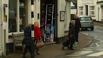 """Welsh town goes """"offshore"""" in tax protest"""