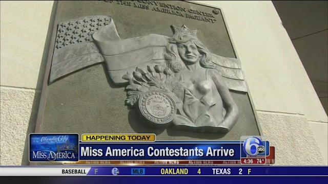 Atlantic City welcomes Miss America contestants