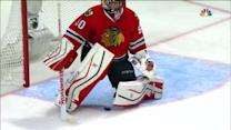 Crawford narrowly avoids own-goal in overtime