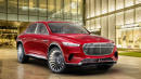 Mercedes-Maybach Ultimate Luxury SUV concept shown in leaked images