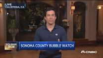 Bubble watch in California wine country
