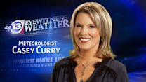 Casey Currys' Friday weather forecast