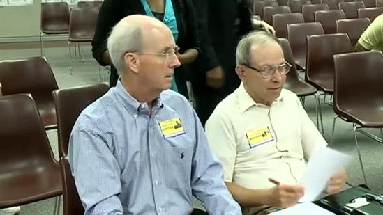 Raw video: School board meeting gets heated