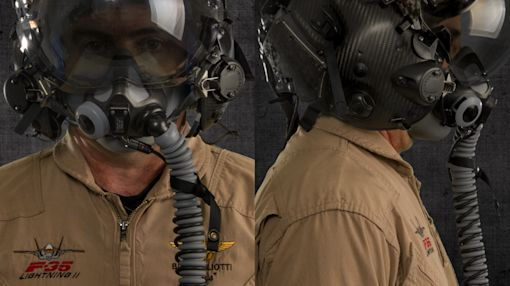 I wore the helmet of America's most expensive war machine and there's nothing quite like it