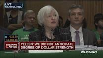 Yellen: Chinese yuan, oil driving market fears