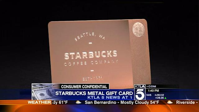 Consumer Confidential: McDonald`s Tip Suggestions; Starbucks Metal Gift Cards; Color of 2014