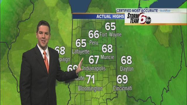 Tuesday's Forecast: Rain is on the way