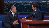 Tim Kaine Makes 'Late Show' Debut
