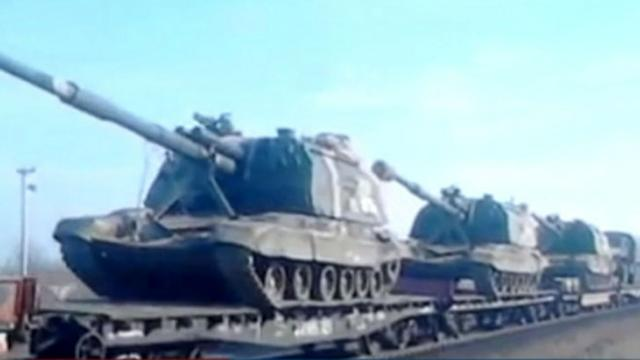 50,000 Russian Troops At the Ready on Ukraine's Border